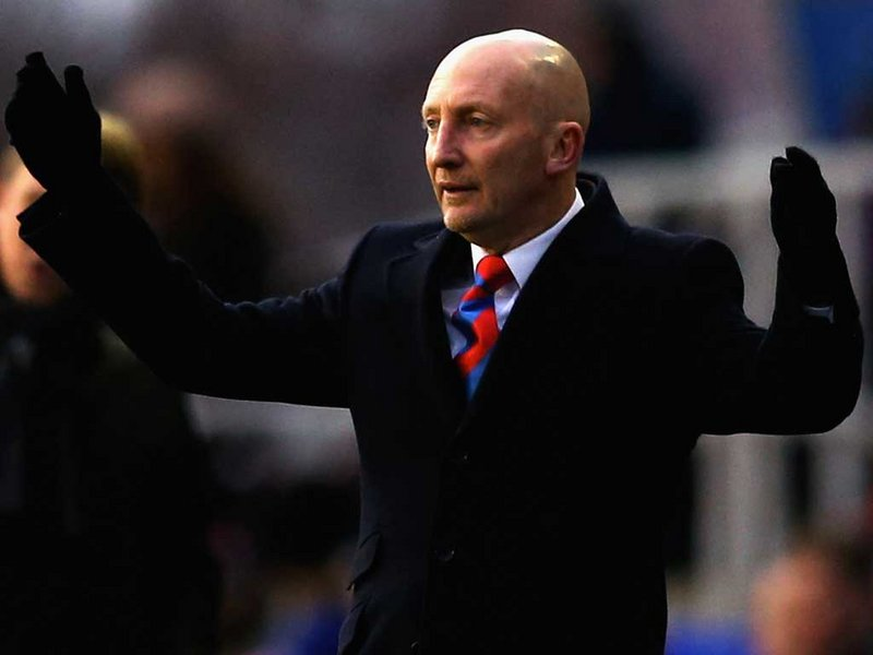 Ian Holloway, técnico do Palace