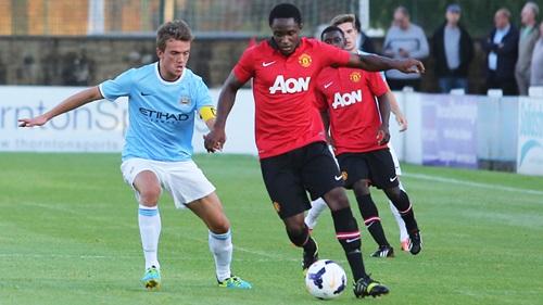 Manchester United vence o City pelos Reservas e leva taça