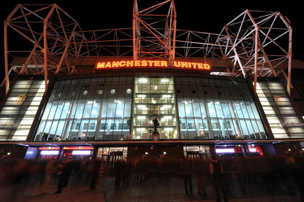 Old Trafford November night.