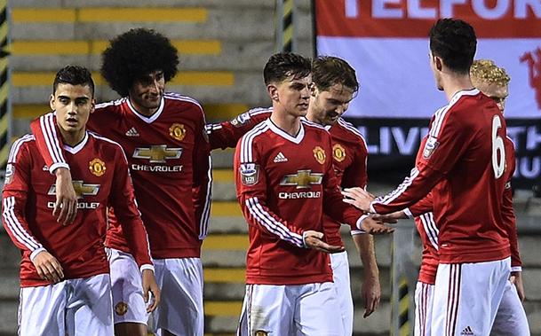 Sub 21: United vence o Liverpool com gol no último minuto