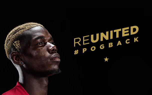 OFICIAL: Paul Pogba retorna ao Manchester United
