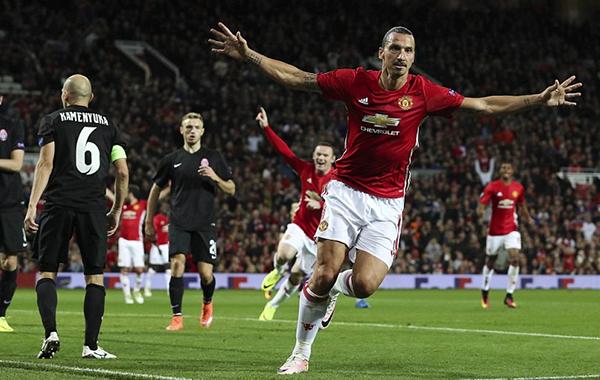 United vence o Zorya Luhansky e chega à sua primeira vitória na Europa League