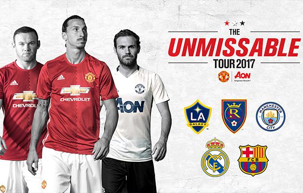 Manchester United confirma pré-temporada nos EUA