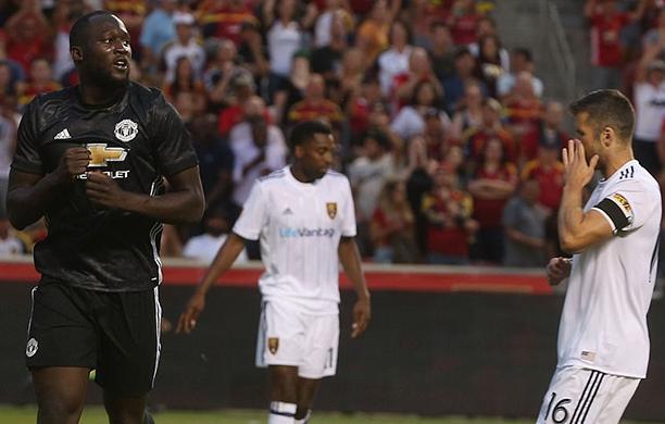 Lukaku marca e garante vitória do United contra o Real Salt Lake