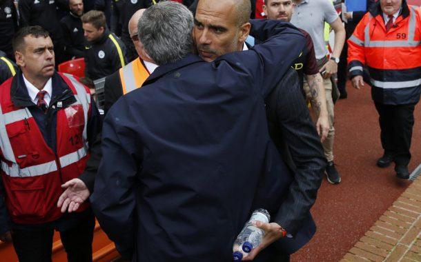 O Derby de Manchester já começou
