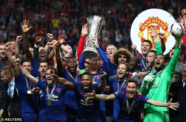 United recebe cerca de €44,5 milhões em premiações da Liga Europa 16-17