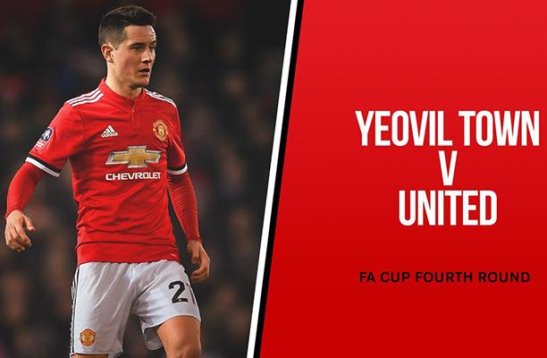 United vai enfrentar o Yeovil Town fora de casa pela FA Cup