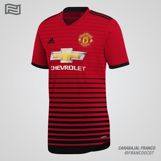 Veja os três possíveis novos uniformes do United para a próxima temporada