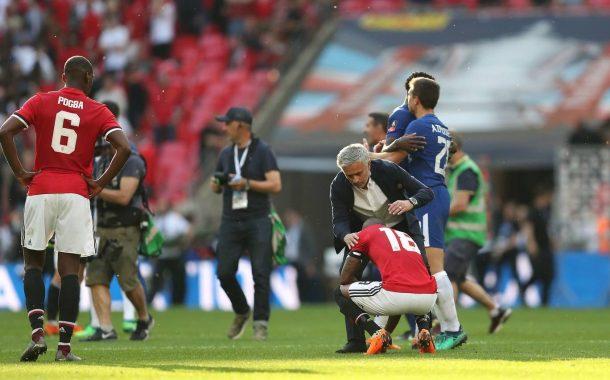 Não deu! Manchester United é derrotado pelo Chelsea e fica com o vice da FA Cup
