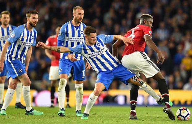 United joga mal e é derrotado pelo Brighton