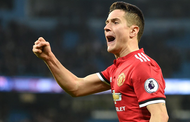 Ander Herrera quer ficar no Manchester United