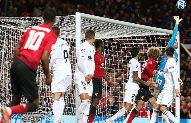 Com péssima atuação, United fica no empate com o Valencia