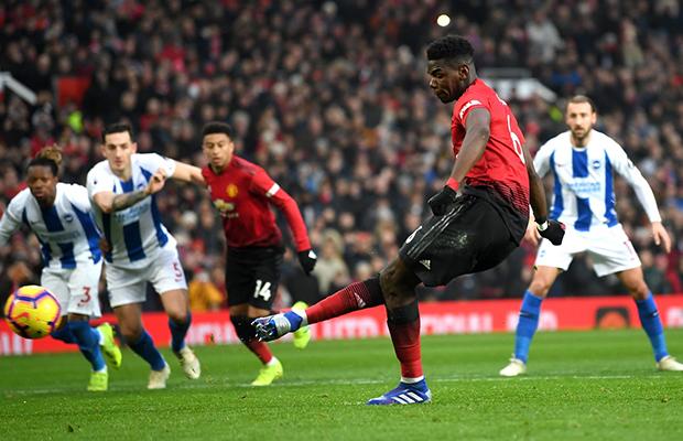 United vence o Brighton e conquista a sexta vitória seguida na Premier League