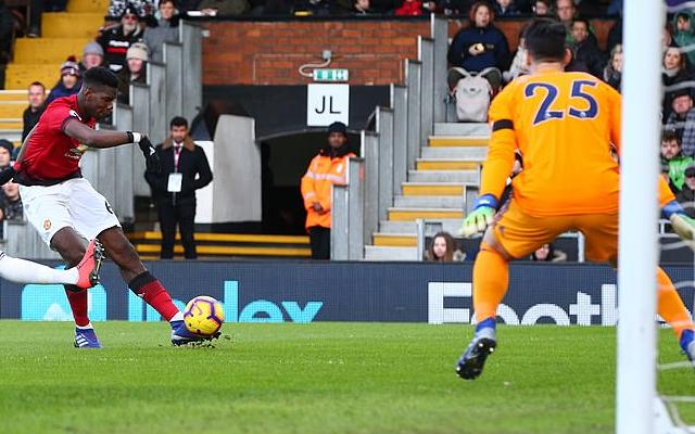 Pogba e Martial marcam, United vence o Fulham e acirra briga pelo G-4